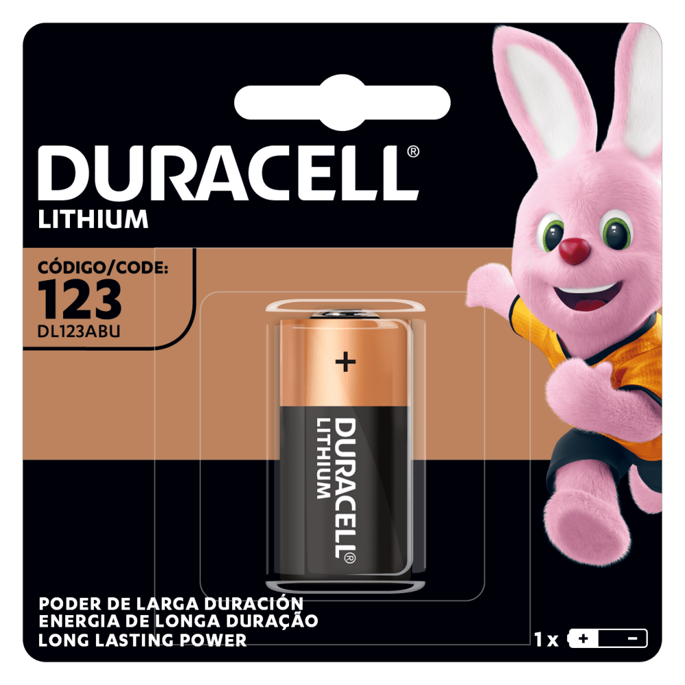 Duracell High Power Lithium 123 Batería 3V