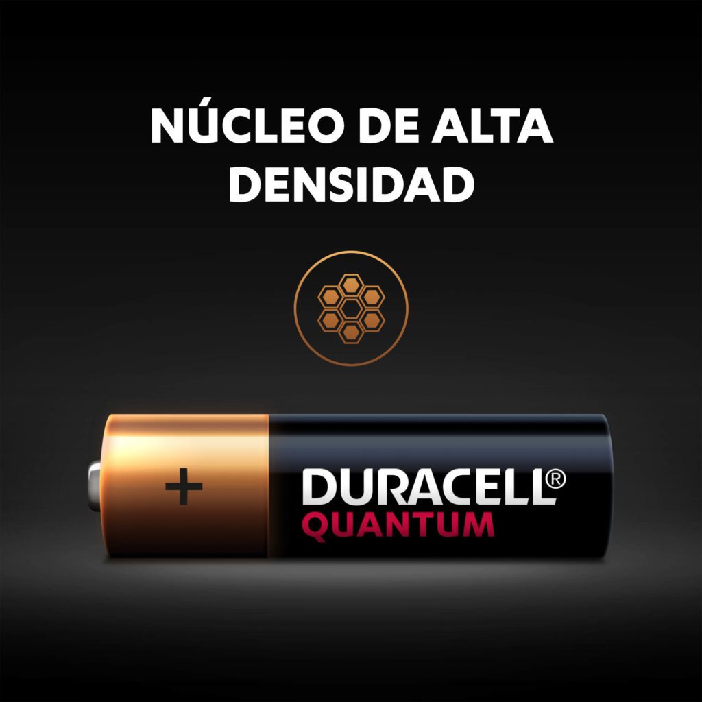 Pilas Duracell Quantum Alcalinas AA